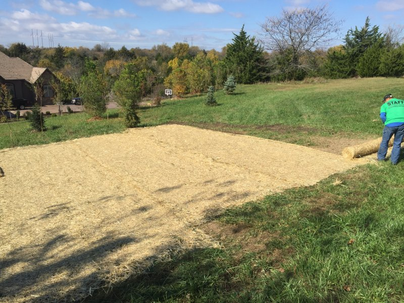 Public-Works-Lawn-Restoration-Grading-Seed-Fertilizer-Straw-Blanket-3