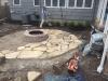Flagstone-patio-with-manufactured-block-fireplace-5