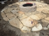 Flagstone-patio-with-manufactured-block-fireplace-6