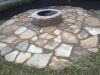 Flagstone-patio-with-manufactured-block-fireplace-8