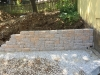 Custom-two-level-retaining-wall-patio-progress-10