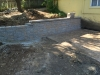 Custom-two-level-retaining-wall-patio-progress-24