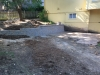 Custom-two-level-retaining-wall-patio-progress-25