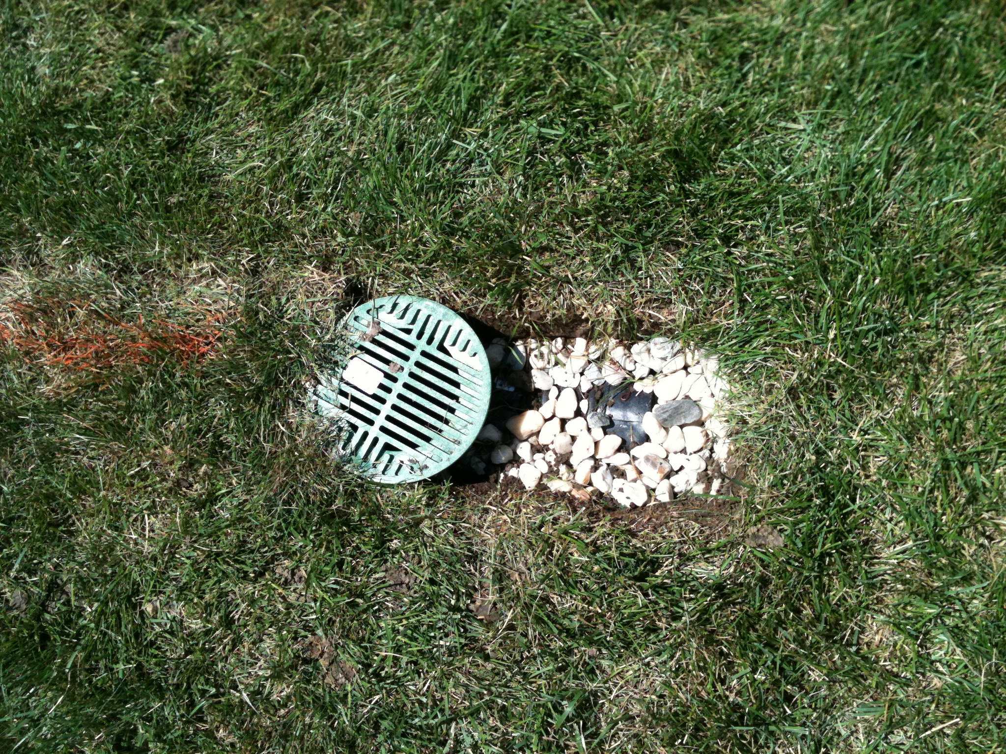 We Solve Water Drainage Problems Hometown Lawn Llc