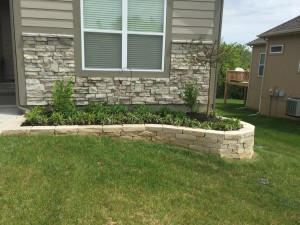 new landscape custom wall
