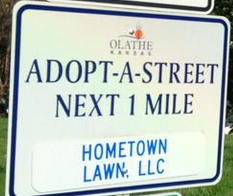 Olathe Adopt a Street Program Volunteer