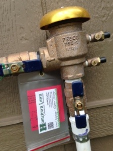 PVB Pressure Vacuum Breaker Backflow Cross Connection Device