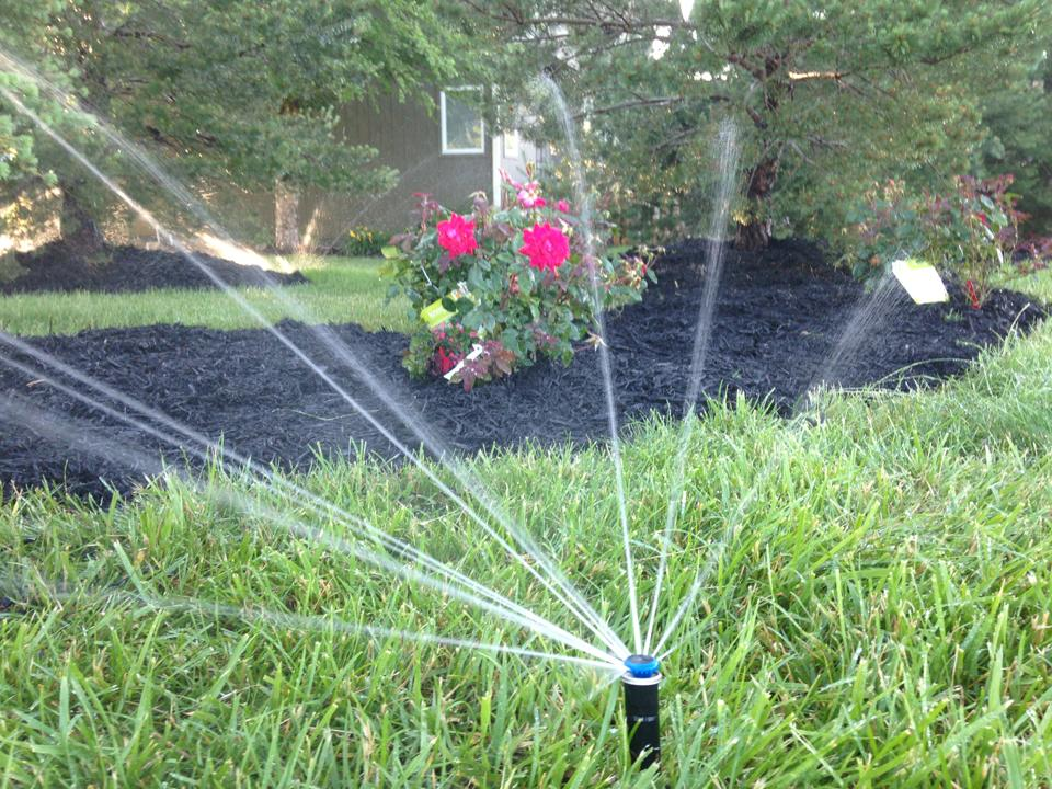 Hometown Lawn provides water efficient sprinkler irrigation service and installation to Gardner, Olathe, Overland Park, Leawood, Stilwell, Lenexa, Shawnee, Roeland Park, Merriam, Mission, Mission Hills