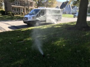 sprinkler winterizing