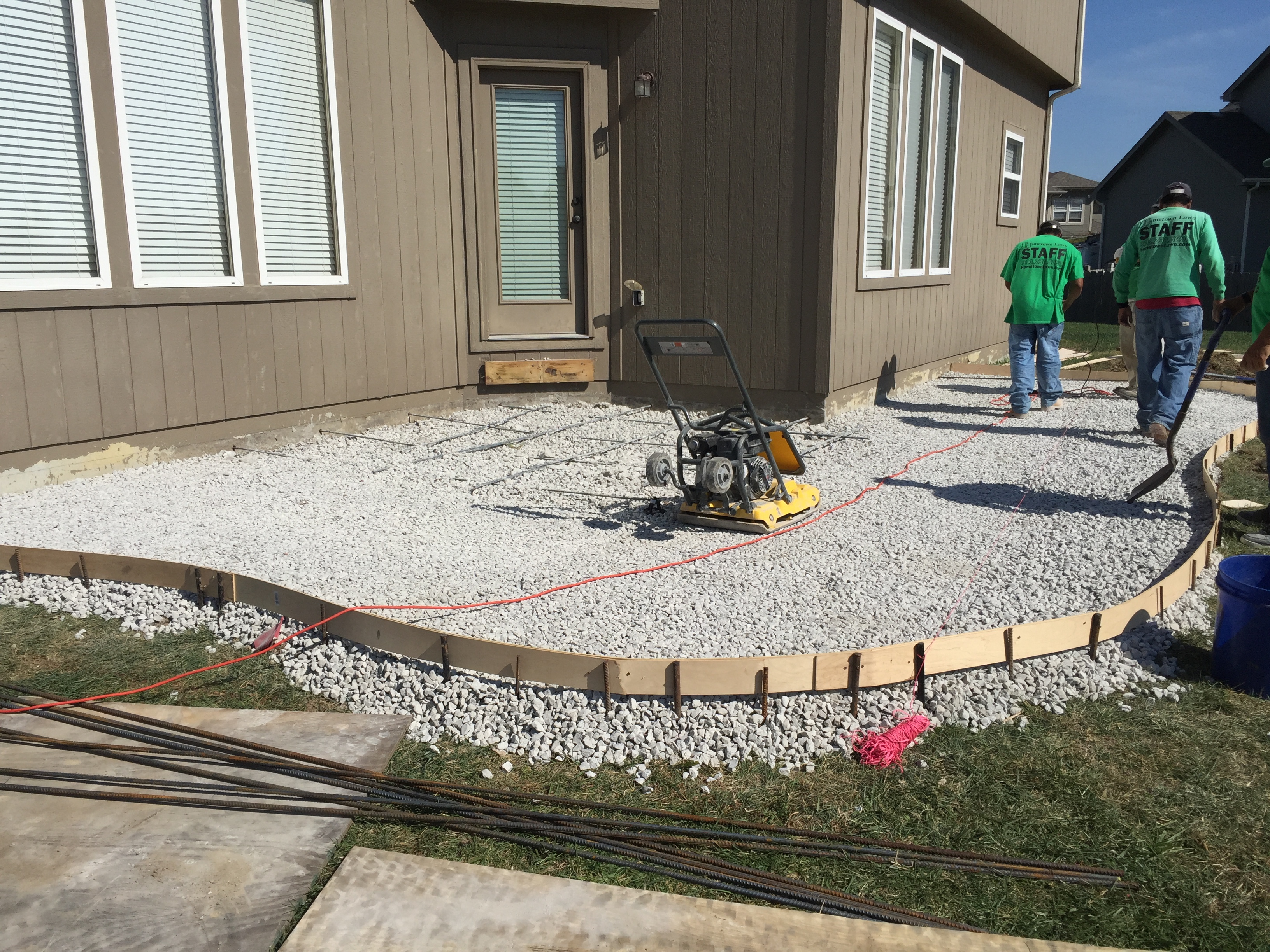How Much Gravel For Concrete Patio Designs