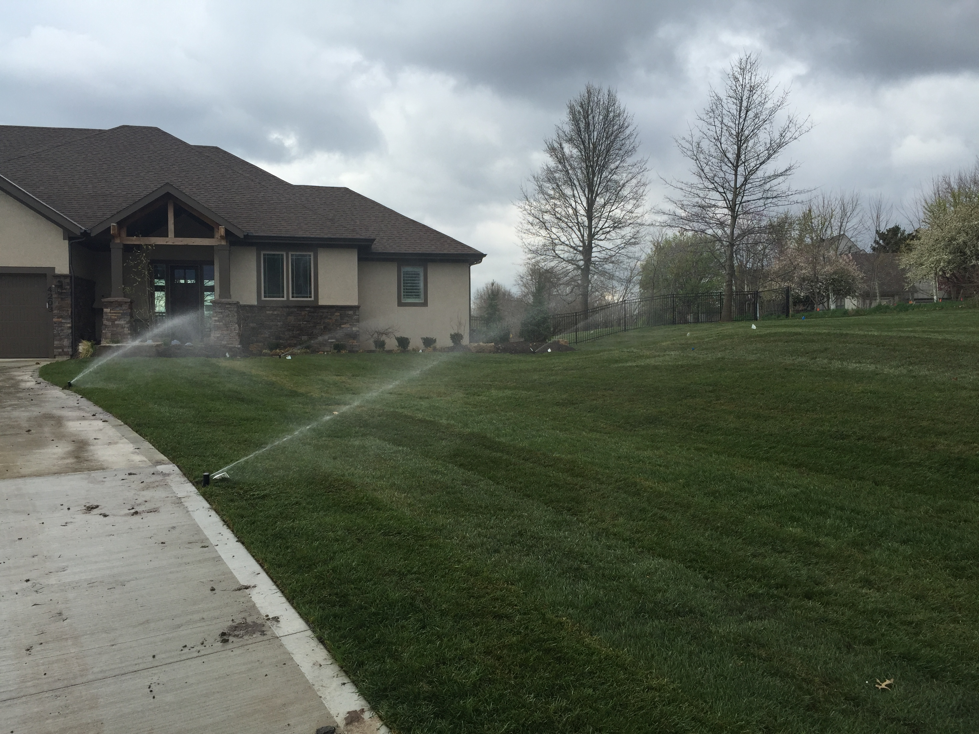 Hometown Lawn provides new irrigation installation, repair and service to Gardner, Olathe, Overland Park, Leawood, Stilwell, Lenexa, Shawnee, Roeland Park, Merriam, Mission, Mission Hills