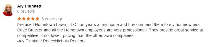 Realtor Recommended Lawn Care Provider