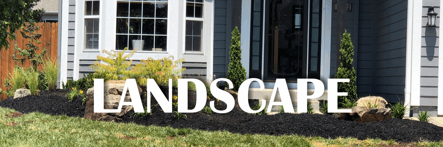 landscape design, installation and maintenance